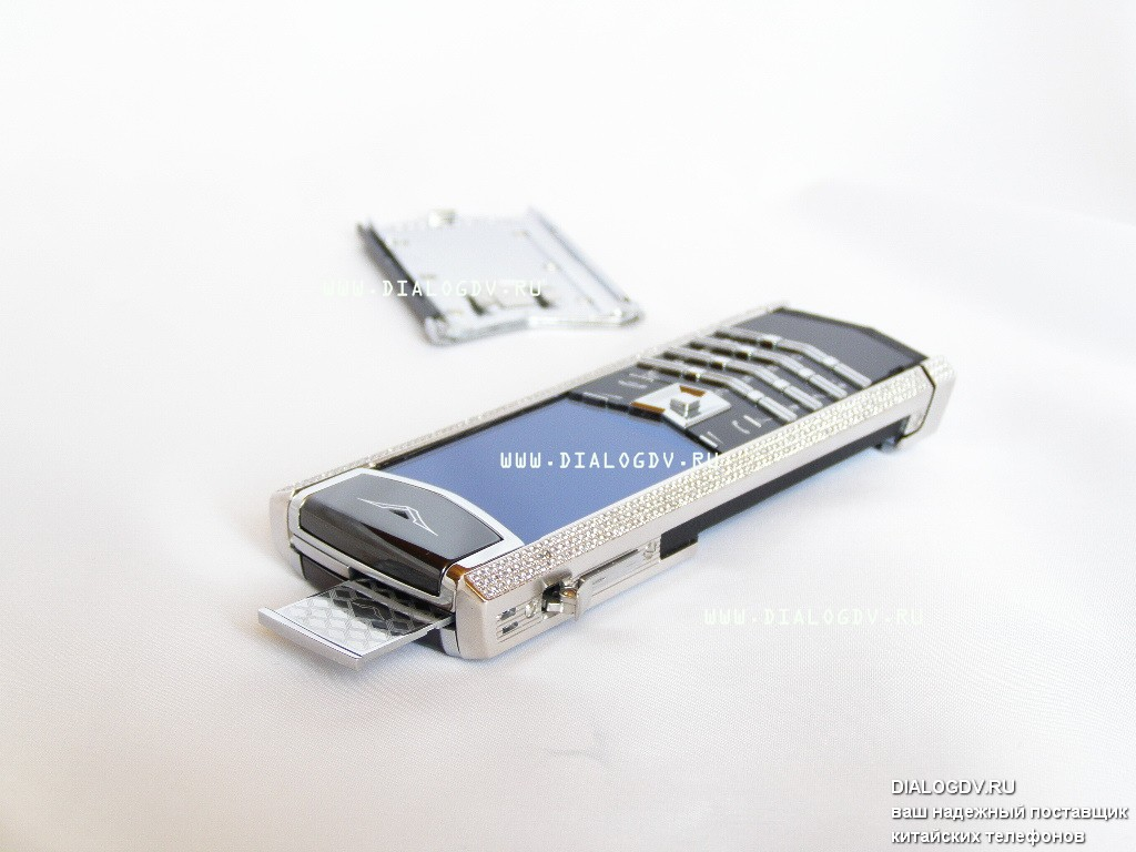 Vertu Signature S Design Full Pave Diamonds Golden